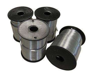 Draadsoldeer Tin / Lood per doos a 4 kg 60/40 Massief 3mm (1kg/Spoel)