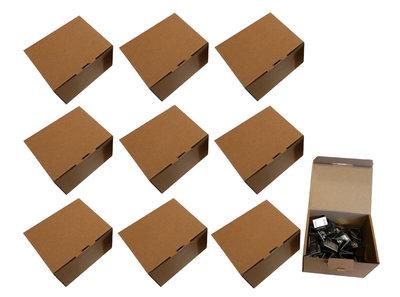 10 dozen RVS Voegklemmen a 100 stuks - Merkloos