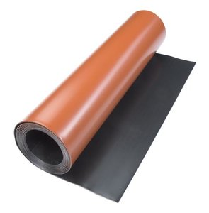 Gekleurd bladlood op rol (rood/antraciet) Code 18 100cm x 300cm (54kg/rol)
