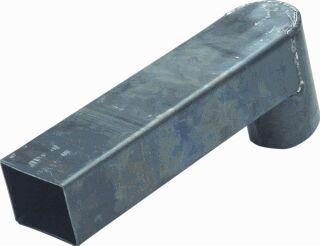 Stadsuitloop lood 60 x 100 mm Lang 500 mm diam. 80 mm