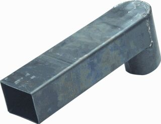Stadsuitloop lood 60 x 100 mm Lang 500 mm diam. 100 mm