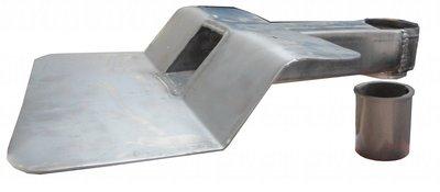 Stadsuitloop lood - Bajonet PVC Code 25 60 x 100 mm diam. 80 mm - 45 gr
