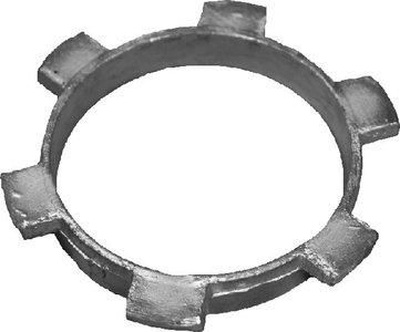 Loden doorvoerring t.b.v. balkondoorvoer diam. 80 mm